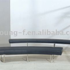 Steel Frame Sofa Ashley Sectional Slipcovers Monte Carlo By Eileen Gray Leather Stainless
