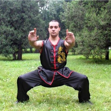 ... nouveau Femmes Hommes de Kung Fu Costume Uniformes Avec Chemise Un...  ... f28e1d723fb