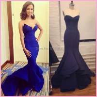 The gallery for --> Dark Blue Prom Dresses 2015