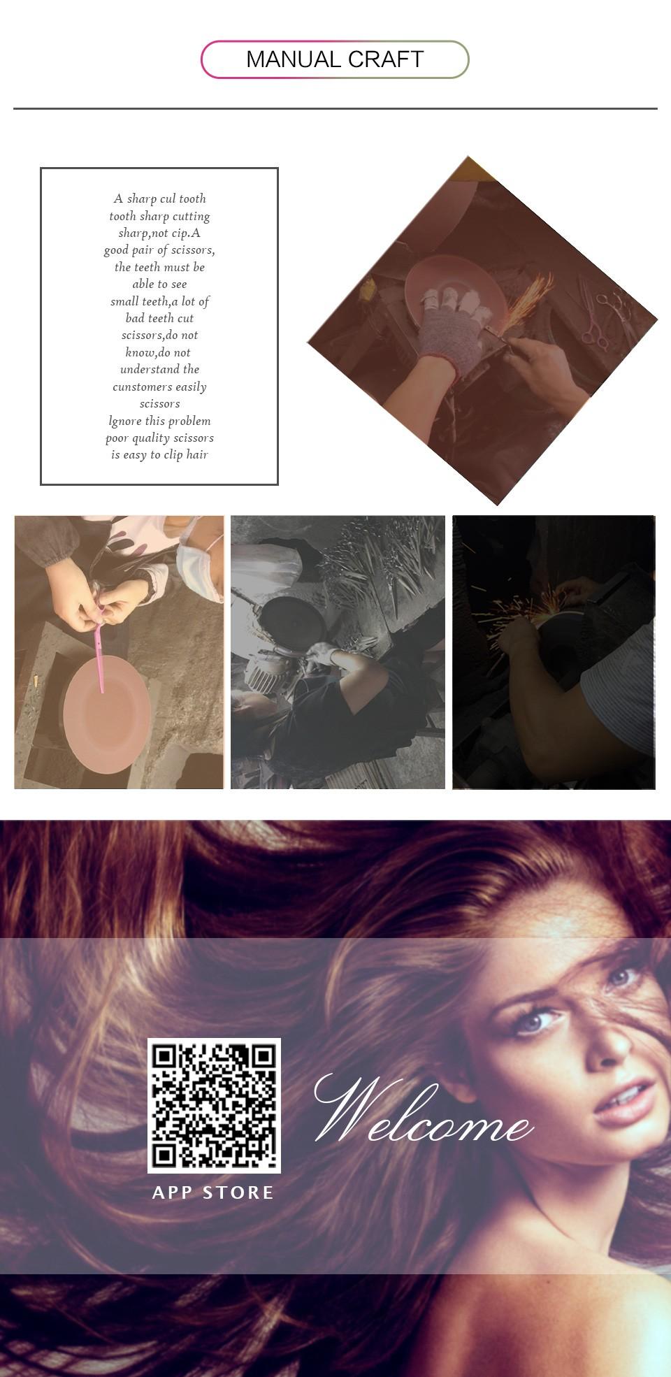 7 Inch Professional Dog Hair Thinning Scissors Pet Jacquelle Eyebrow 0042 01 Chongwu Jiandao Xiangqing 03 04 05