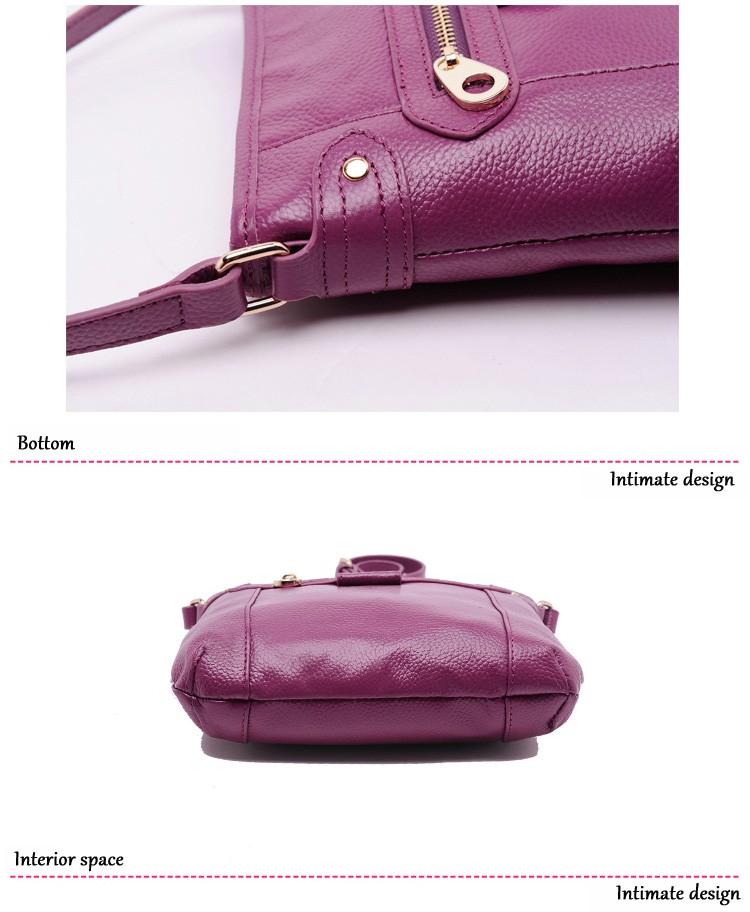 e2df413d733e ୧ʕ ʔ୨100% натуральная кожа высокого качества женские сумки через ...