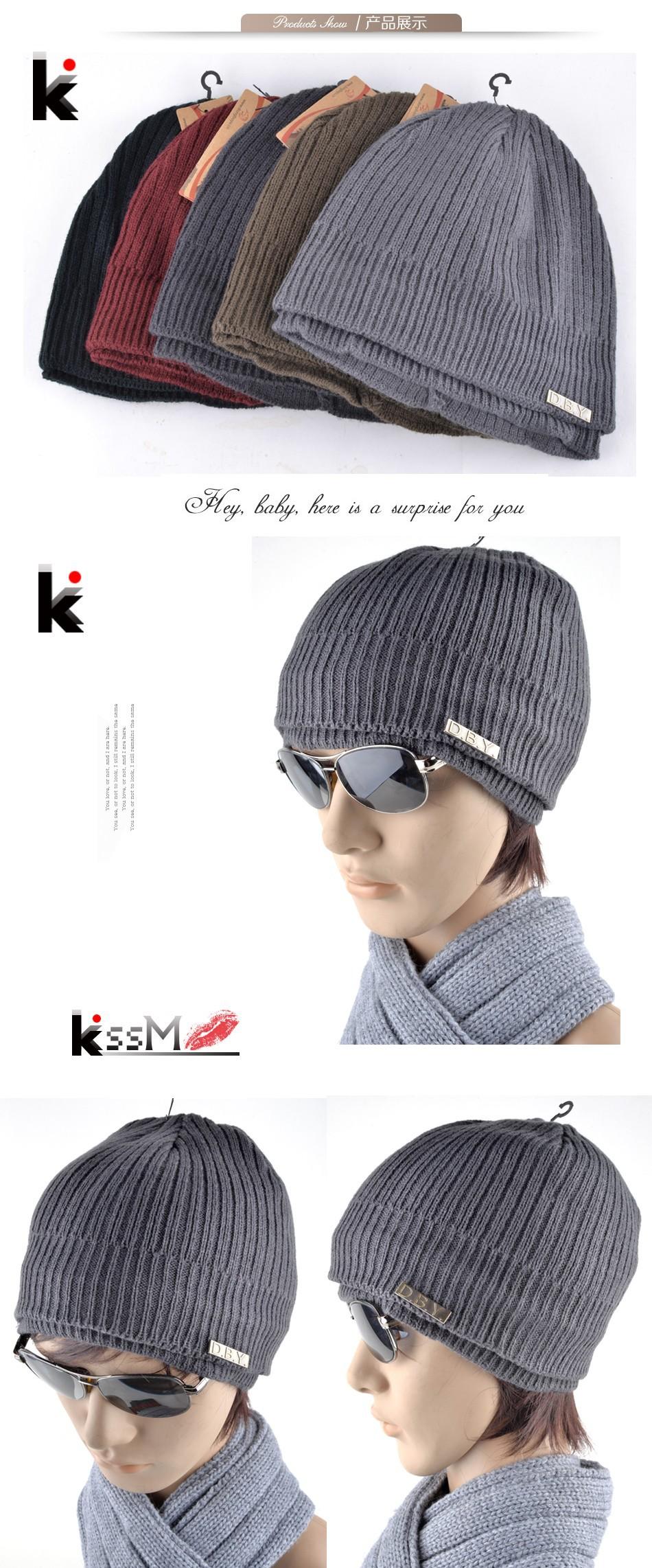 ୧ʕ ʔ୨2015 gorros invierno pasamontañas sombreros hombre diseñador ...