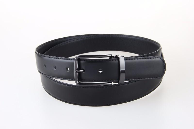 bonne qualité en cuir véritable homme ceintures en cuir de vache hommes  d affaires ceintures grande taille réglable Hommes trou ceinture 130 135 cm  noir 9ceeb85f626