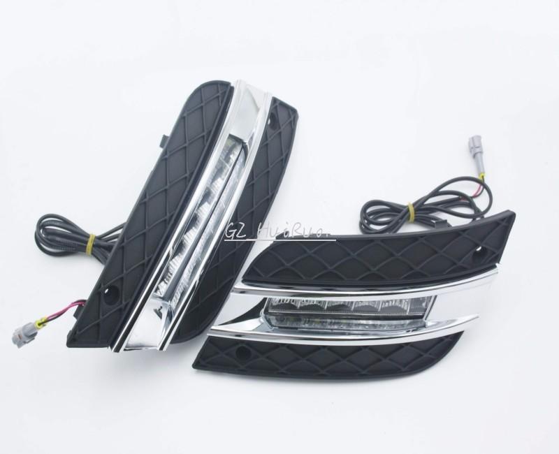 LED Tagfahrlicht Lauf nebelscheinwerfer Lampe für Mercedes Benz W164 ...