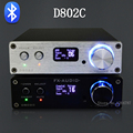 FX Audio D802C Wireless Bluetooth Digital Amplifier USB AUX Optical Coaxial Pure Digital Audio Amplifier 24Bit