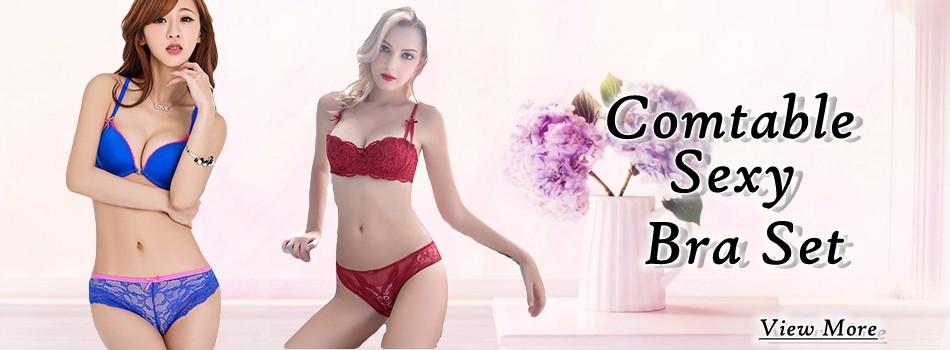 fb11f3be1b275 bra set. product description. Lace Bralette Sets Transparent Underwear  Women Set Sexy Lingerie Plus Size ...