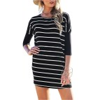 Striped Shirt Dresses for Women