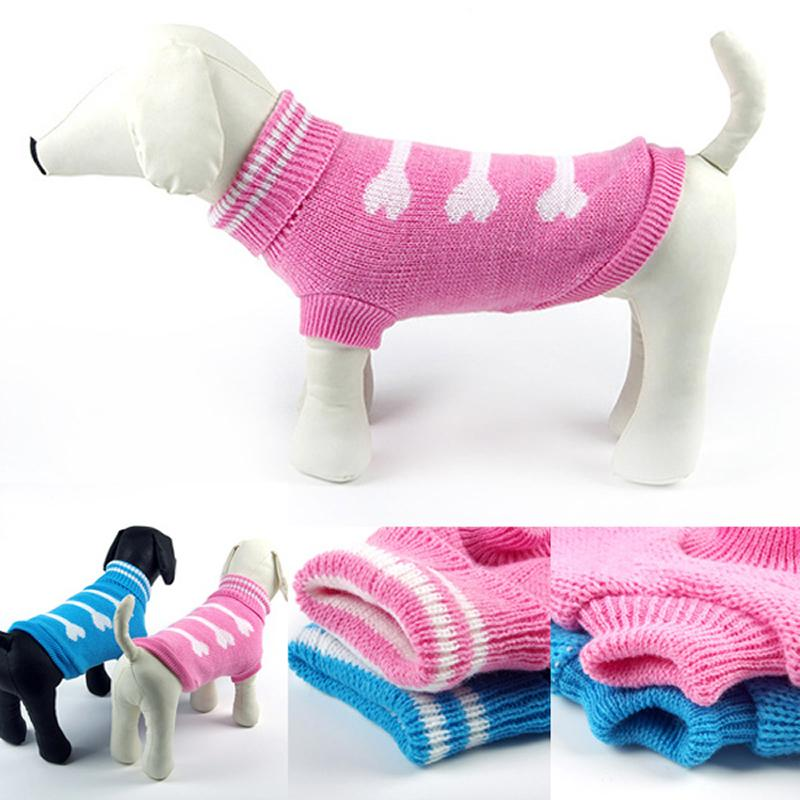 Dog Sweater Clothes For Small Dog Christmas Knitted Puppy Cat