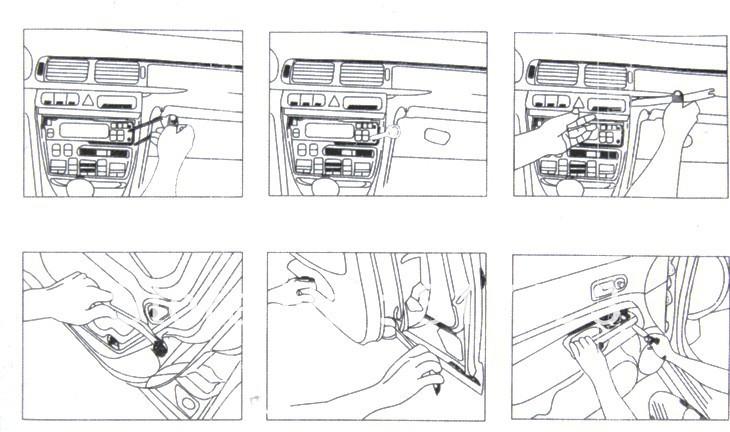 Aliexpress.com : Buy 12 pcs Car Panel Trim Audio Stereo