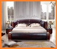 modern and luxury leather sofa bed sofa set Mini order ...
