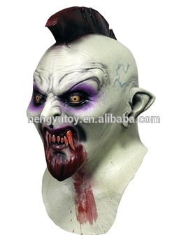 ≧Ужасы взрослых <b>Хеллоуин</b> костюм латекс дьявол mohawk ...