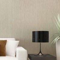 Modern plain vertical stripe wallpaper plain textured ...