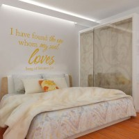 I Have Found the One Whom My Soul Loves Wall Decal - Vinyl ...