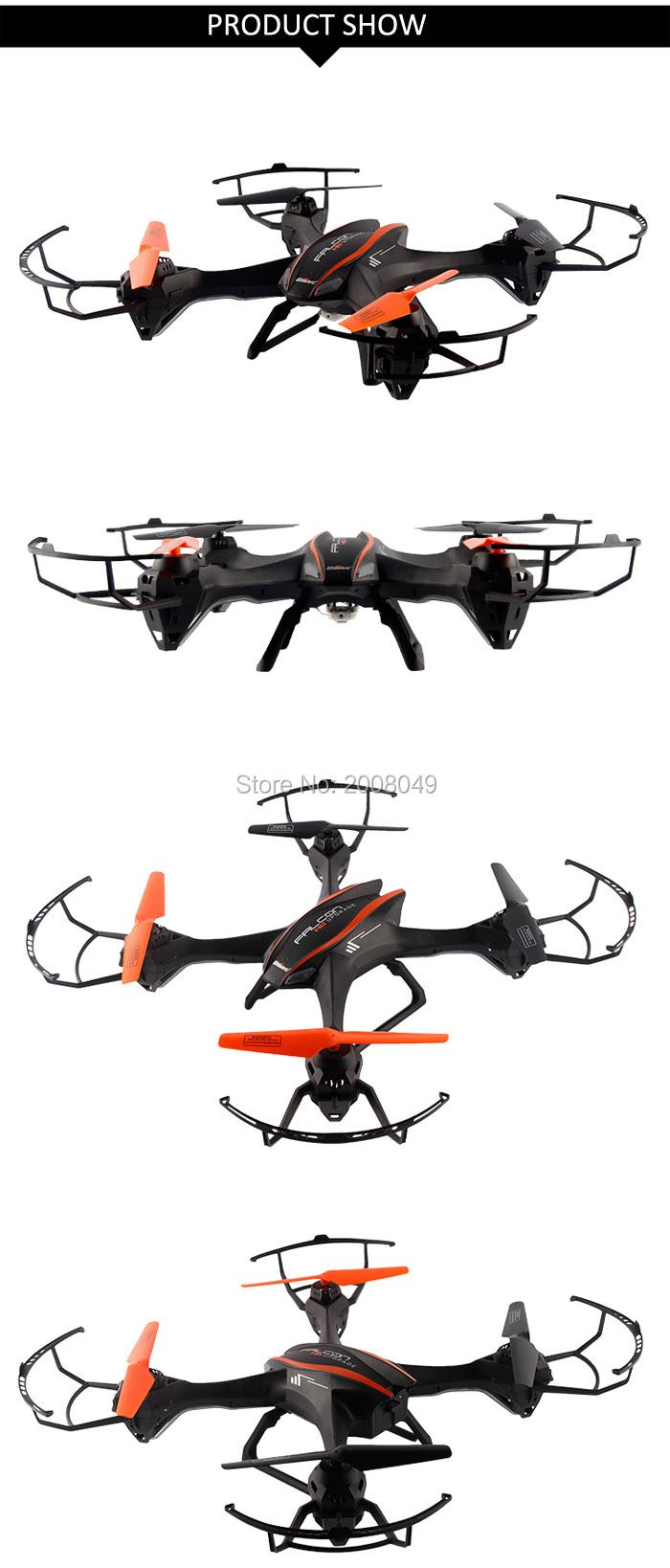 UDI U818S 2.4G 4CH RC Quadcopter 6 Axis Gyro 3D Flip RTF