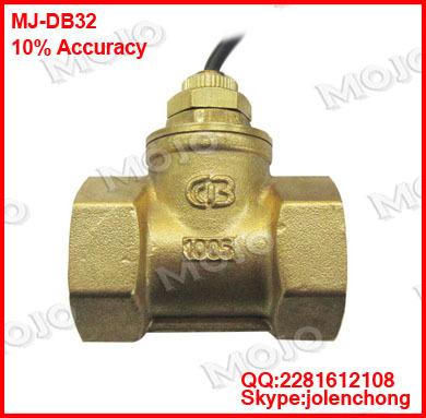 ᐂMJ-DB32 1.25 дюймов 10-100L/MIN Весло тип реле протока ...