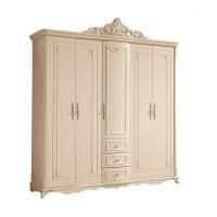 French Style Wardrobe closet Wardrobe ivory carving five ...