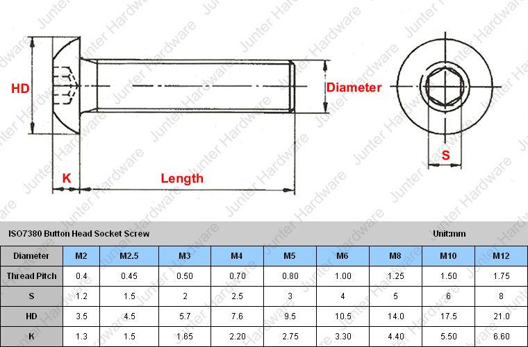 vis /à t/ête cylindrique PU: 10 pi/èces Vis /à t/ête plate M3 x 25 mm avec six pans creux ISO 7380-1 en acier inoxydable A2 V2A D2D