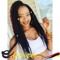 marley braid synthetic hair extension high quality twist ...