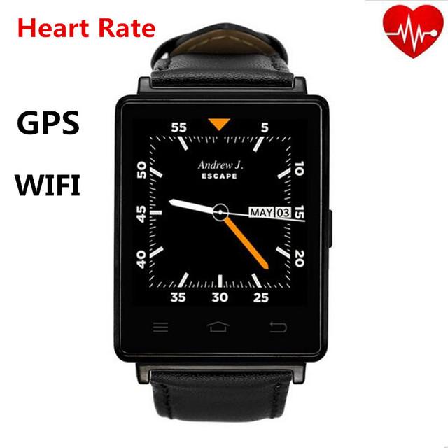 № 1 D6 3 Г Smartwatch Телефон Android 5.1 MTK6580 Quad Core 1.3 ГГц 1 ГБ RAM 8 ГБ ROM 1.63 дюймов Wi-Fi Bluetooth 4.0 GPS смарт часы