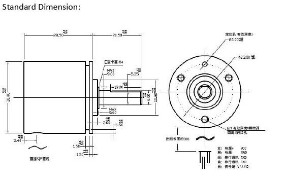 CALT New products high accuracy hall effect sensor modbus