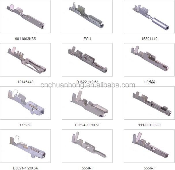 927833 Cnch Connector Terminal Dj629-6.3b Car Wiring