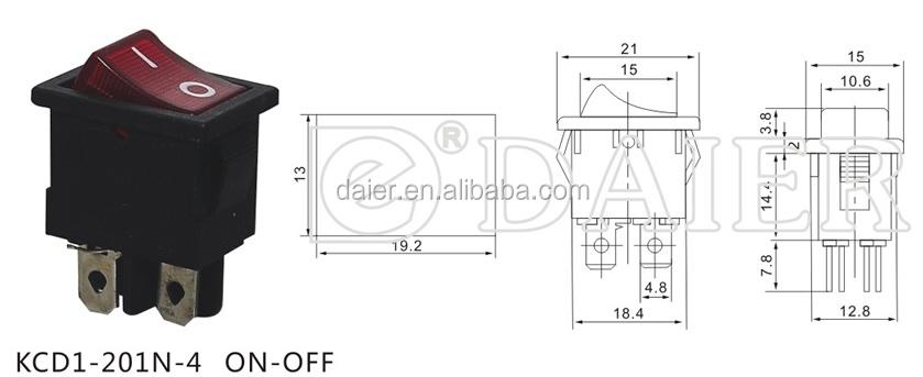 Illuminated Switch Wiring Diagram