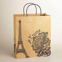 Fashion Paper Carry Bags Black White Design Paper Bag ...