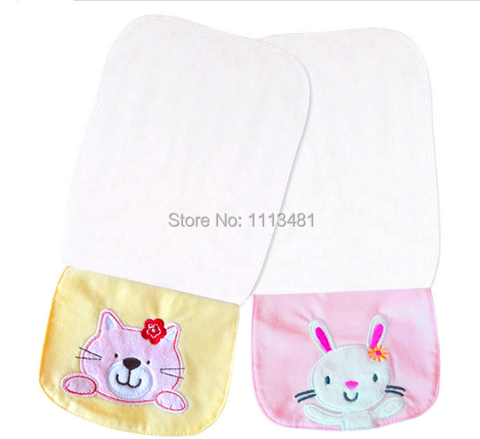 ᐂ100% algodón Hilado sudar-absorbente Toallas para bebé niños bebé ...