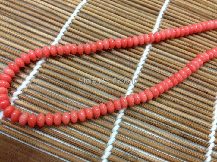 1 Strand Corail Rouge Chip Perles 5-8 mm