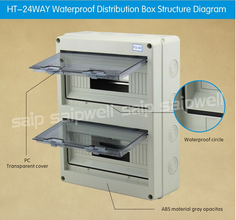 Plastic Circuit Breaker Box Sha12 Way Buy Circuit Breaker Box