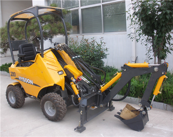 Stump Grinder Attachment Backhoe