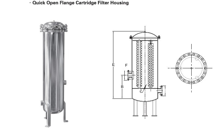 Filter Housing: Filter Housing Drawing