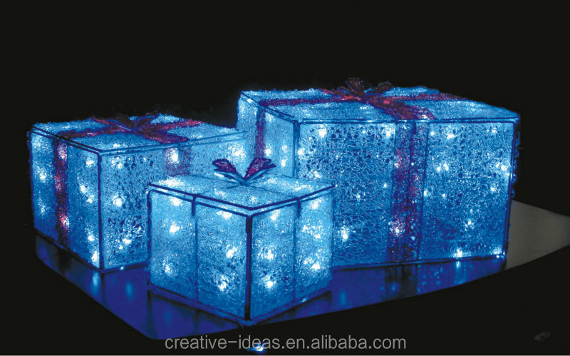 Giant Holiday Gift Displays Box