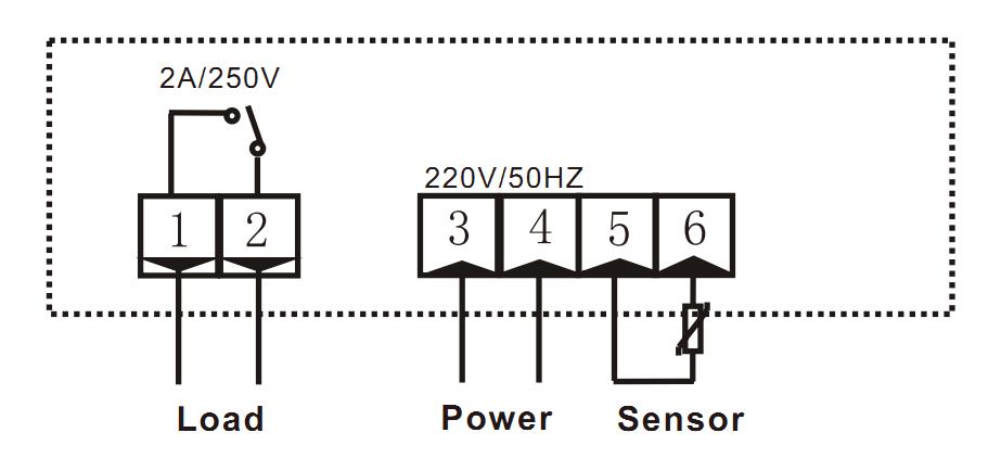 RINGDER RC-117M Digital Temperature Controller Thermostat