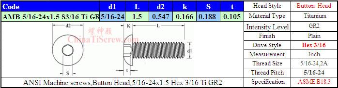 """5 joint de culasse vis tête cylindrique acier inoxydable a2 Noir 5//16/""""-18x1/"""" UNC"""