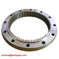 High Precision Large Diameter Ring Plastic Gear For Paper ...