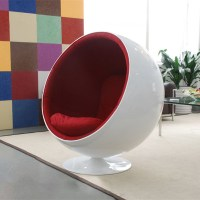 Fiberglass Eero Aarnio Ball Chair,Egg Pod Chair,Ikea ...