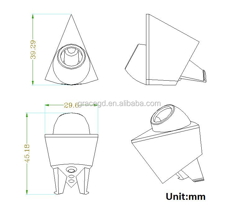 Special Logo Car Front View Camera For Volkswagen Car