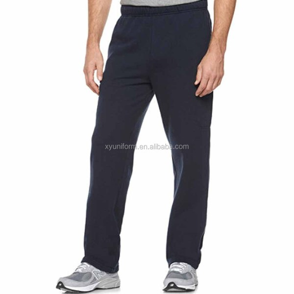 High Quality Mens Blank 100 Cotton Jogger Pants Sweatpants Men
