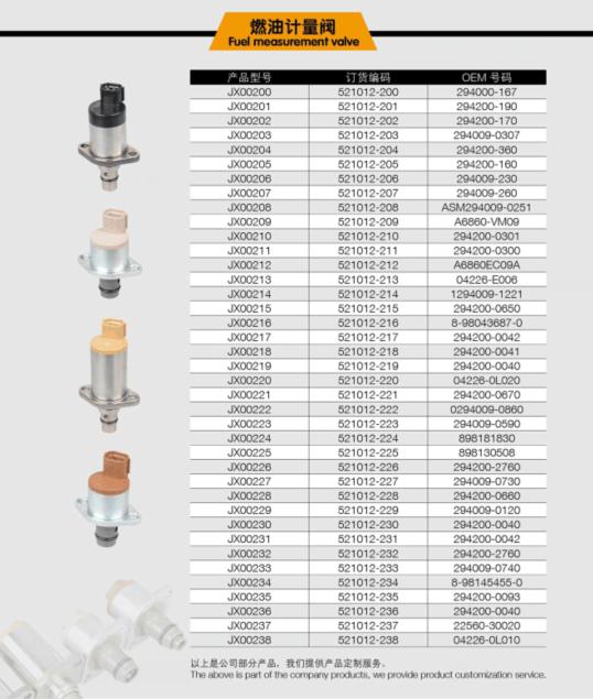 294000-1372 1460a053 98145453 294200-2760 Fuel Pump