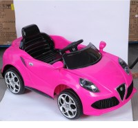 Pink color kids car toy automatic wholesale ride on ...