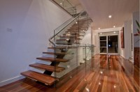 Stainless steel railing outdoor staircases design u shaped ...