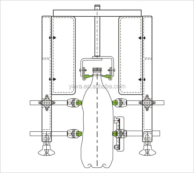 Wear- Resistance Pet Bottle Conveying Guide Rail / Neck