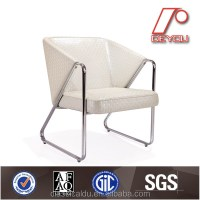 White Leather Visitor Chair,Hotel Visitor Chair,Visitor ...