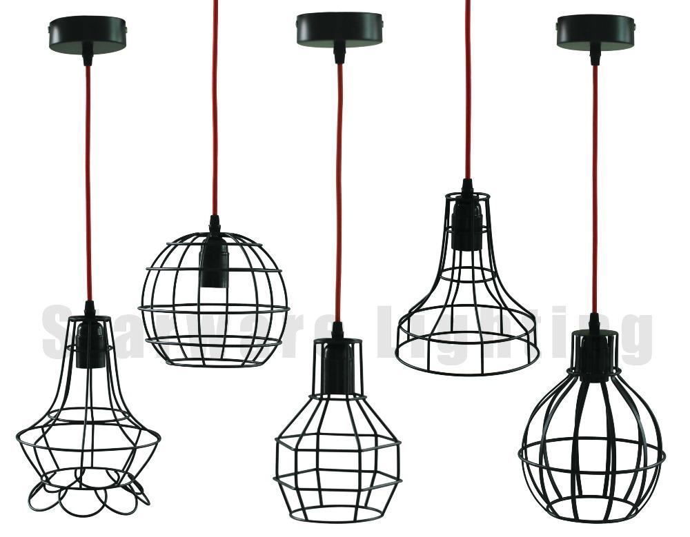 E27 Retro/vintage Edison Bulbs Industrial Iron/wire Metal