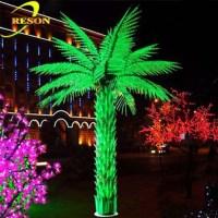 Garden Decor Led Outdoor Landscape Light Up Palm Tree ...