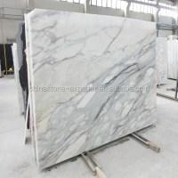 Italian Calacatta White Marble Italian Marble Flooring ...