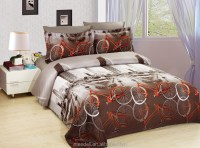 100% Polyester 3d Bicycle Disperse Printed Luxury Bedding ...
