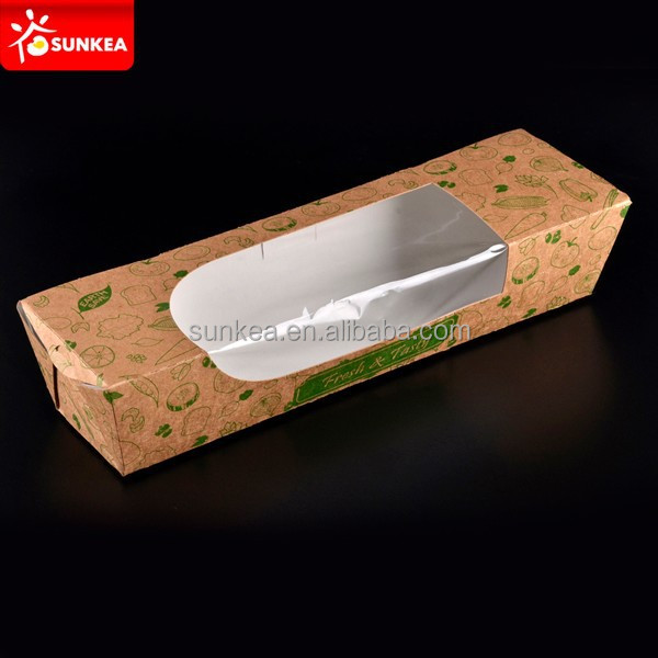 Fda Approved Baguette BoxesDisposable Bread Box Buy Fda Approved Food Packaging BoxesLarge