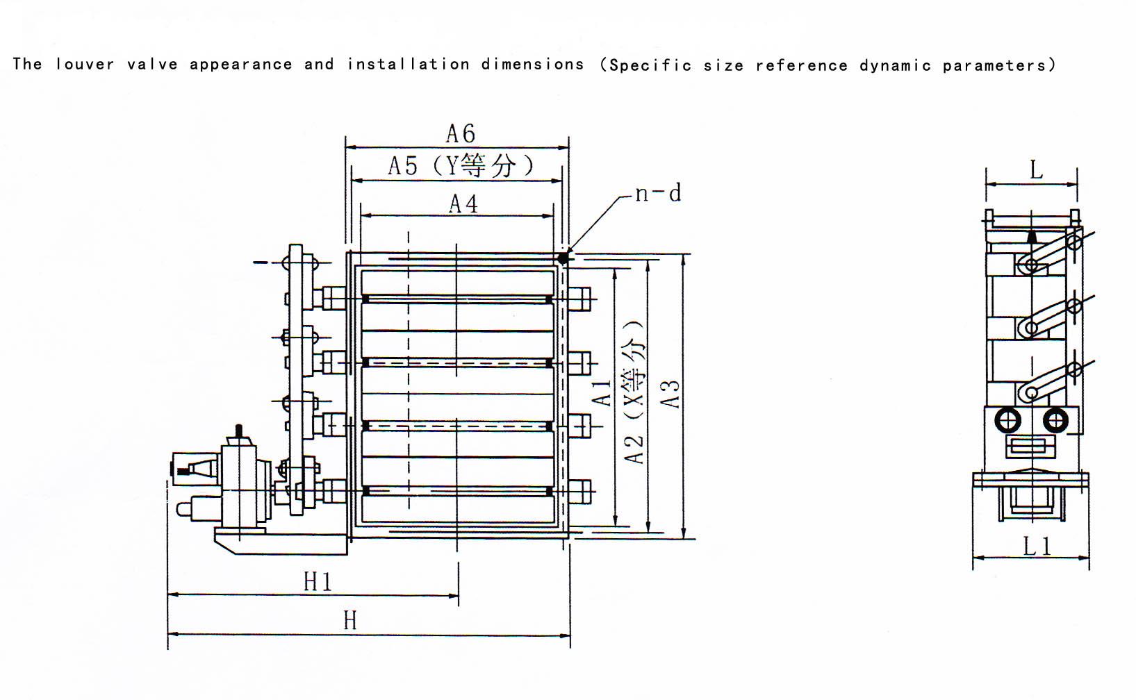 electric louver damper, motorized square damper, damper
